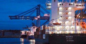 International ocean freight transport