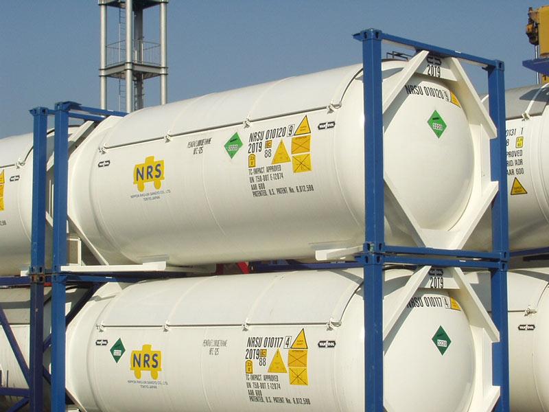 El transporte de mercancías peligrosas y fácilmente contaminantes