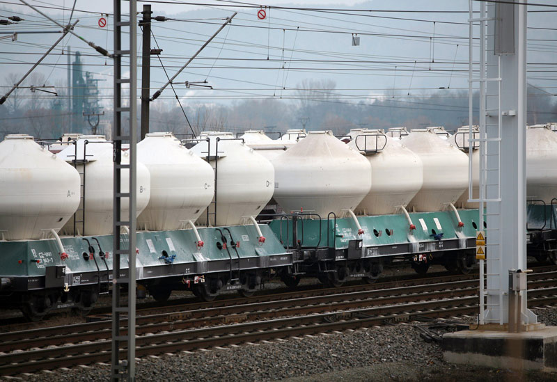 Rail transport of freight: goal for 2030