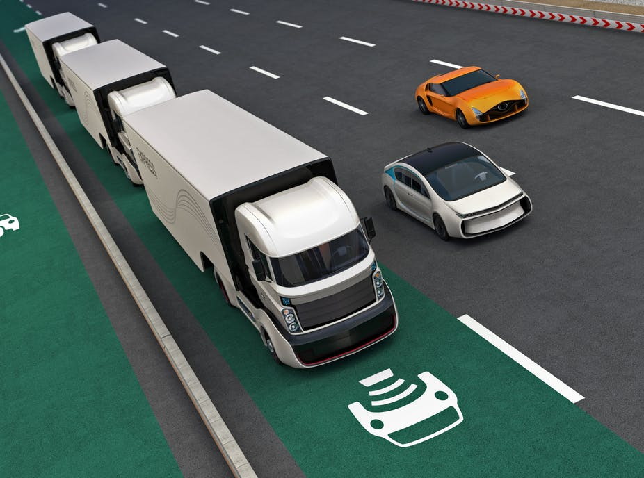 The future of road freight transport