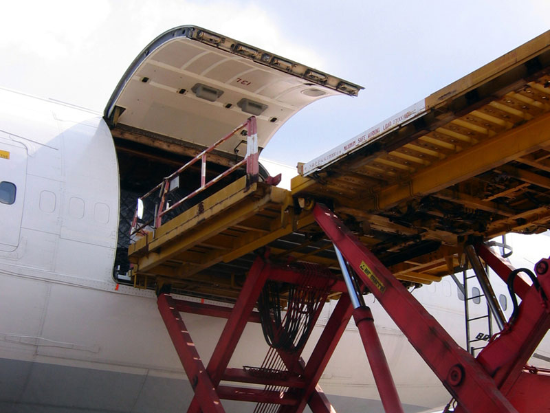 The steady growth of air cargo transport