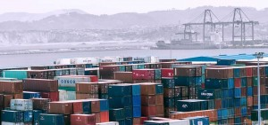 Customs management of international operations in the port of Santurce