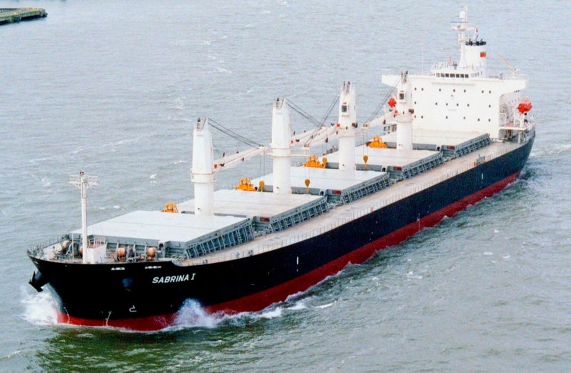 Barco granelero