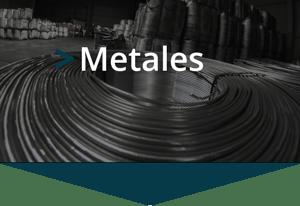 Transporte de metales y ferroaleaciones