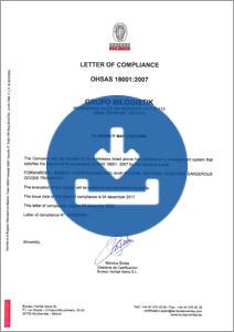 OHSAS 18001:2017
