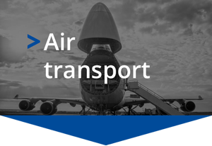 Goods freight air transport