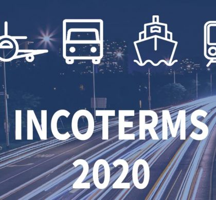New Incoterms enter in force in 2020