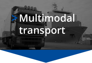 Goods multimodal freight transport