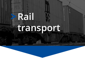 Goods rail freight transport