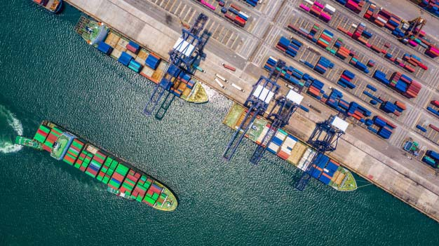 Sea freight and how is established