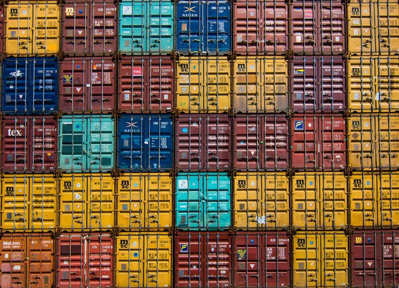 Types of ocean freight containers