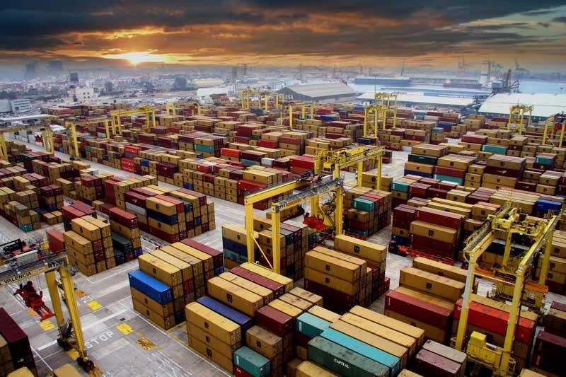 Los puertos españoles movieron 545 millones de toneladas en 2017
