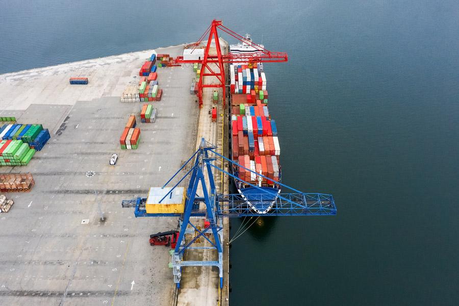 Balance 2020 en el transporte de mercancías marítimo