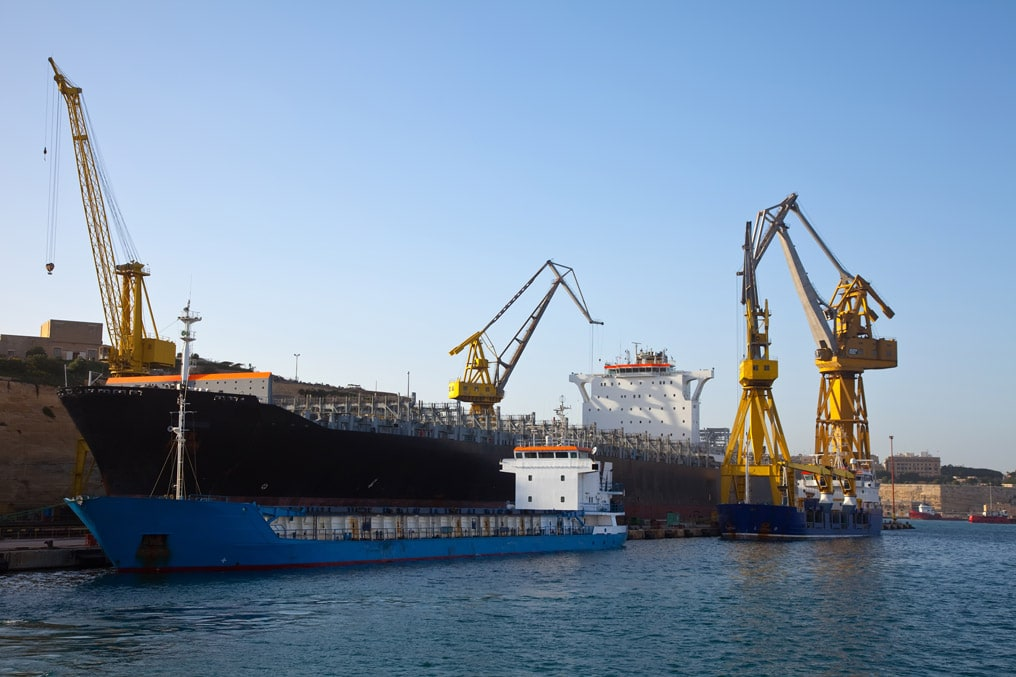 Transporte marítimo de cargas sobredimensionadas